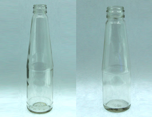 Glass Bottles, High flint food and beverage bottles and jars.